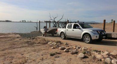 Western boat ramp upgraded at Taylors Lake