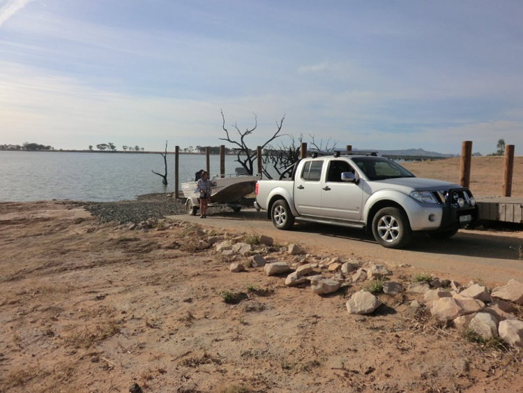 Western boat ramp upgraded at Taylors Lake