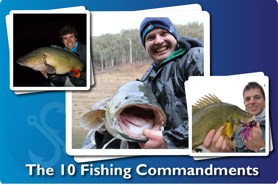 The 10 Fishing Commandments