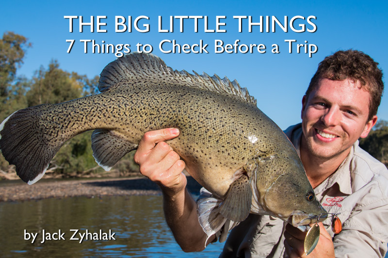 The Big Little Things – 7 Things to Check Before a Trip