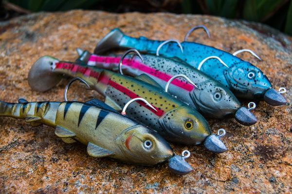 big plastics, even bigger cod – social fishing, Soft Baits