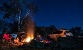 camp-setup-night-photography
