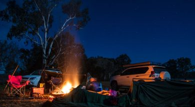camp-setup-night-photography
