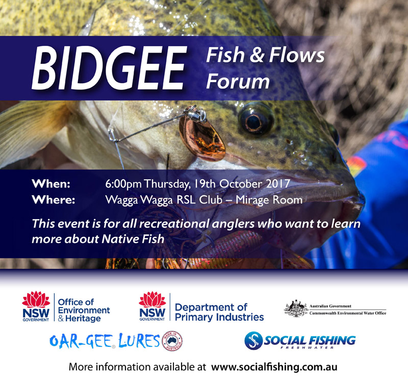 Bidgee Fish & Flows Forum