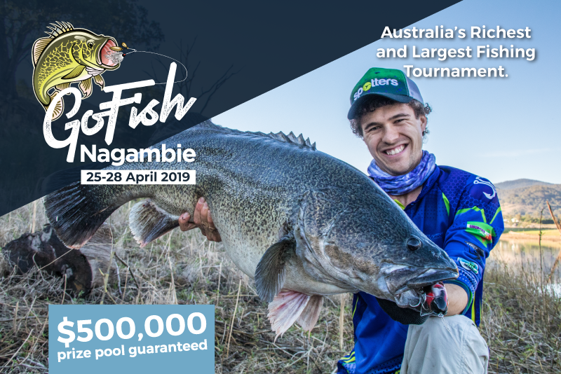 GoFish Nagambie – Win a share of $500,000 for catching a Murray Cod