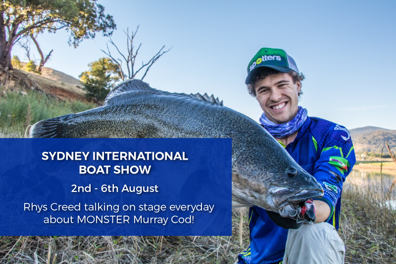 Sydney Boat Show: Rhys will be talking on stage everyday!