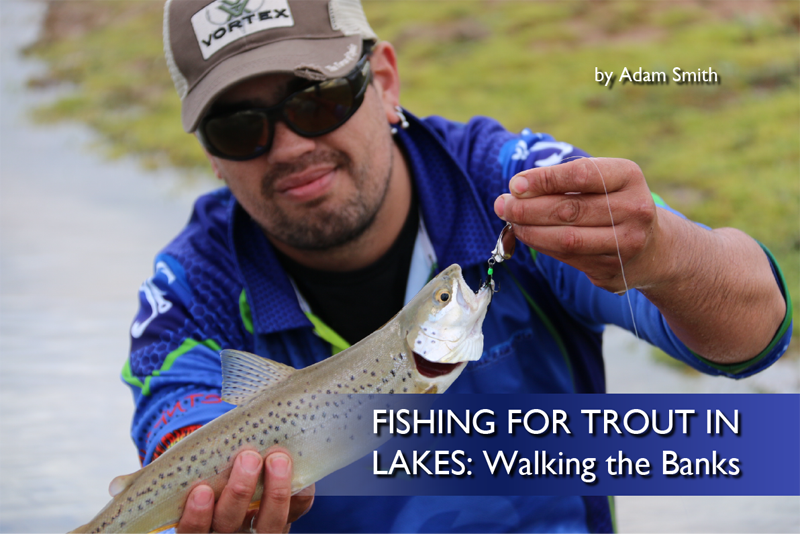 Fishing for Trout in Lakes: Walking the Banks