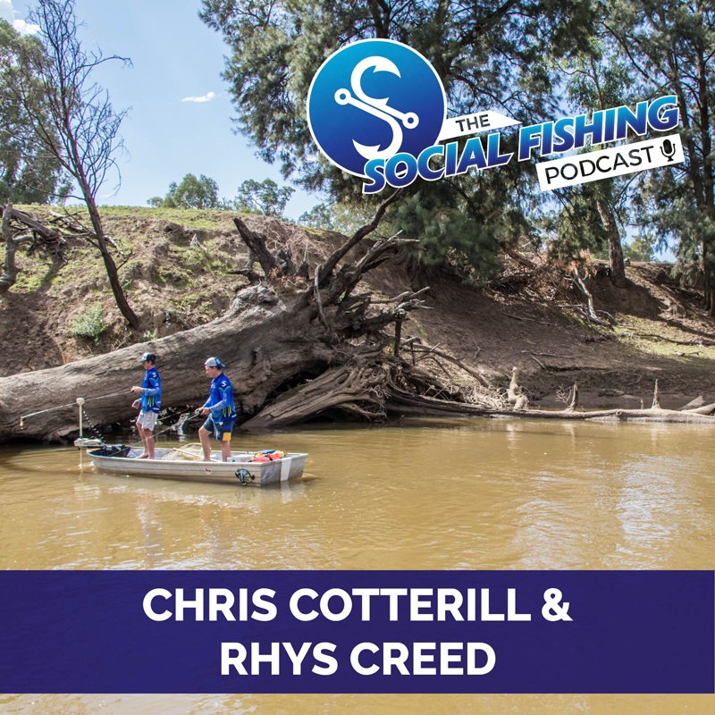 Ep 7 – Fishing in Tough Conditions with Rhys & Chris