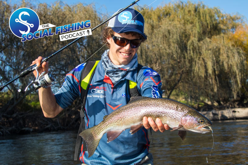 Ep 16 – The Season Ahead: Tips for Targeting Trout in Rivers and Streams with Rhys Creed