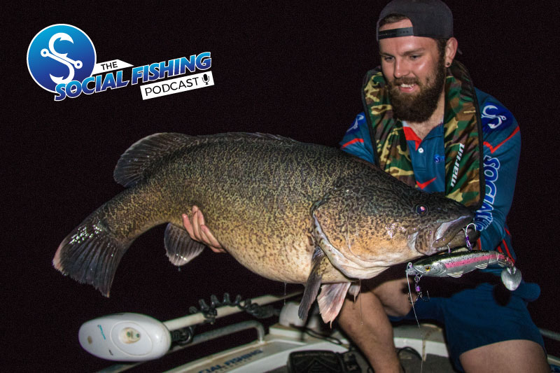 Ep 18 – Story: Recent Trip to Blowering Dam chasing Murray Cod in the Dark with Rhys Creed