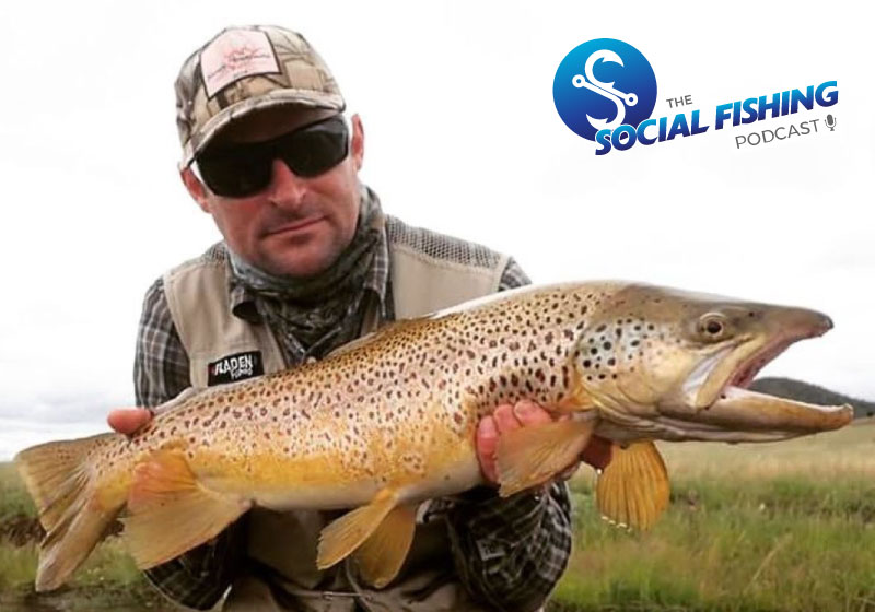Ep 33 – Brendon Spicer: Tips for Chasing Trout in the Snowy Mountains NSW