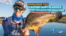 Casting Soft Plastics for Yellas in the Shallows | Windamere Dam (VLOG/Session)