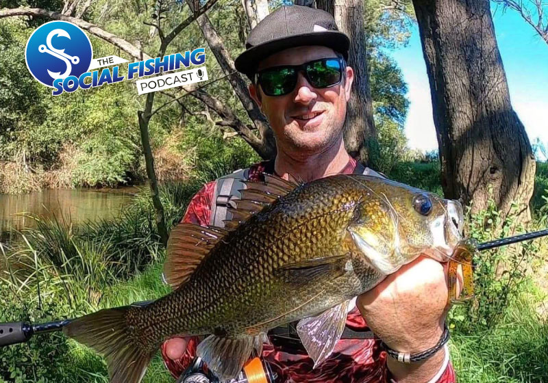 Ep 44 – Simon Pender: Tips for Small Water Australian Bass