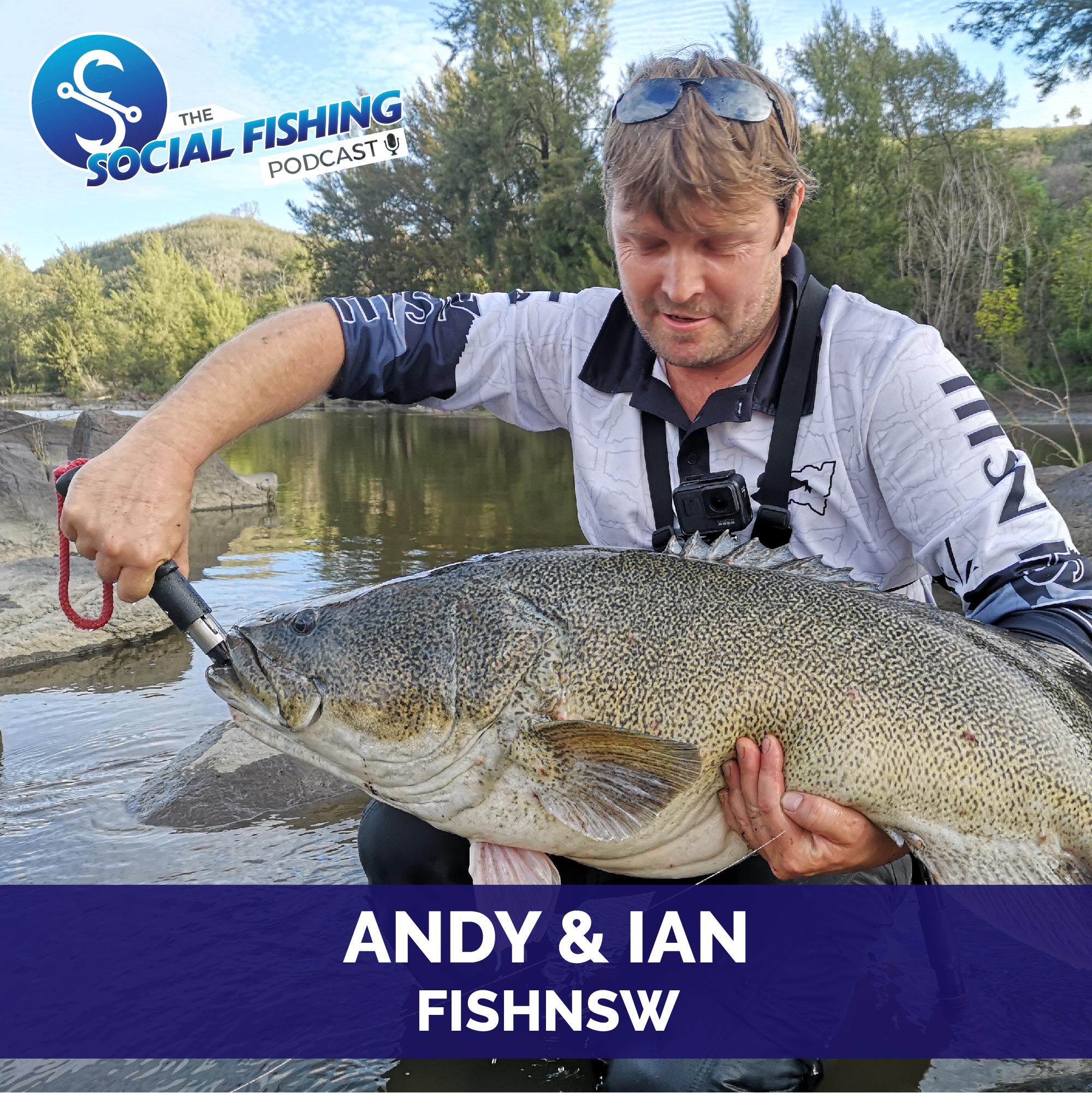 Ep 48 – Ian and Andy from FishNSW: Chasing Cod from the Bank and the Journey of FishNSW