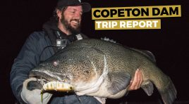 Copeton Dam Trip Report – Tips, Techniques and Key Spots For Chasing Copeton Cod